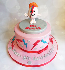 Mr Bowie Cake