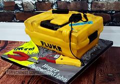 John - Fluke Toolbox Retirement Cake (ThePerfectionistConfectionist) Tags: retirement cake electrician electric fluke box sparks tool birthday novelty celebration chocolate dublin swords malahide kinsealy