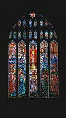 Christ Church Eltham Back Window (2) (Matthew Huntbach) Tags: eltham christchurch window se9 jesus
