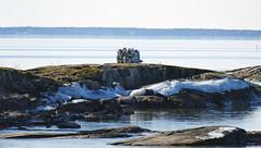 Råbäck at Lake Vänern_01 (Barbro_Uppsala) Tags: spring earlyspring kinnekulle västergötland sweden råbäck vänern