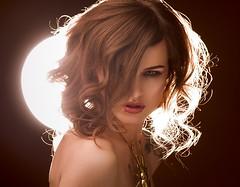 Samira (hartworxphotography) Tags: model studio sexy beauty fashion styling hair beautiful hartworx headshot portrait girl glamour nude light face dress pretty art fashionstylist stylist makeup colour latexsexy backlickt rimlight brown