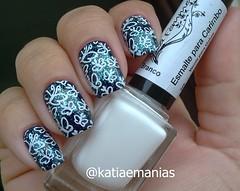 Esmalte para carimbo Branco (La Femme) (katiaemanias) Tags: katiaemanias drk carimbada lafemme esmaltes esmalte esmalteparacarimbo unhas unha nails nailpolish nail nailart stampingnailart stampingnails stamping