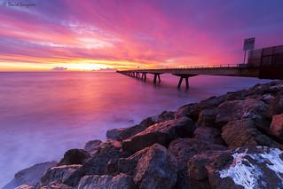 Sunrise At The Dock II.