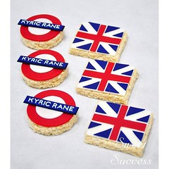 London Themed Rice Krispies (sweetsuccess888) Tags: instagramapp square squareformat iphoneography uploaded:by=instagram london londonunderground unitedkingdom flag londonparty ricekrispies desserttable dessertbar dessertbuffet philippines