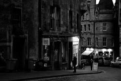 The Baked Potato Shop (Fearghàl Nessbank) Tags: nikon d700 scotland edinburgh blackwhite bw mono monochrome street thebakedpotatoshop