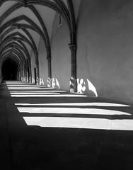 Light in the cloister (herman hengelo) Tags: trier domstpeter deutschland cloister kooromgang duitsland