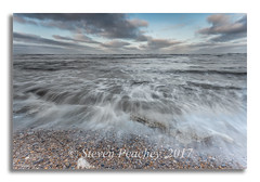 Feel The Rush (Steven Peachey) Tags: seascape beach sea waves water sky clouds pebbles uk england northeastcoast northeastengland coast coastline ef1740mmf4l canon6d lee09gnd exposure leefilters seaham lightroom manfrotto durhamheritagecoast