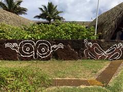 Street art on Easter Island (Craigs Travels) Tags: streetart wallart easterisland rapanui hangaroa chile