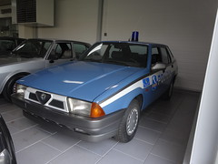Alfa Romeo 75 Polizia Apeldoorn (willemalink) Tags: alfetta polizia apeldoorn 75 alfa romeo