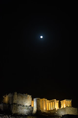 The Acropolis under the full moon (Nicolay Abril) Tags: athens greece αθηνα ελλάδα athènes grèce athen griechenland atene grecia atina yunanistan atenas