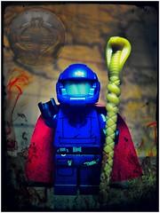 Hail Cobra! (LegoKlyph) Tags: lego custom cobra gijoe cartoon hasbro snakes 80s marvelcomics marvel comics commander terrorist