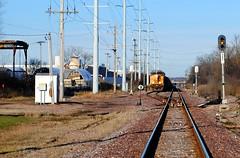 Railroad going through Milwaukee (Cragin Spring) Tags: rail railroad railroadtracks train tracks industry industrial midwest milwaukee milwaukeewi milwaukeewisconsin wisconsin wi urban city unitedstates usa unitedstatesofamerica