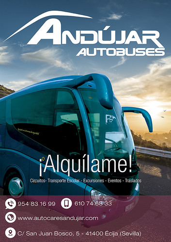 "Autobuses Andujar - Alquiler Autocares y microbuses en Ecija • <a style=""font-size:0.8em;"" href=""http://www.flickr.com/photos/153031128@N06/33730653890/"" target=""_blank"">View on Flickr</a>"