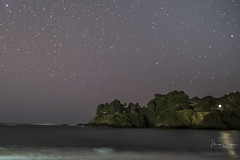 Mendocino Skyscape 4of 5 (MarcCooper_1950) Tags: milkyway stars starscape skyscape nightphotography long exposure light painting beach water mendocino van damme state park fujifilm xt10