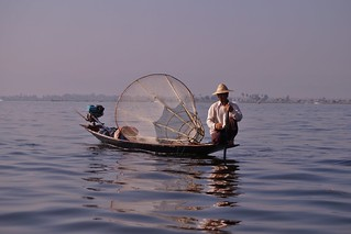 Lac Inle - pêcheur Intha 25