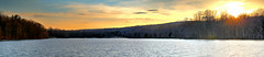 Hopewell Lake at French Creek State Park (WabbyTwaxx) Tags: hopewell lake french creek state park panorama sunset pa pennsylvania