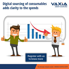 Vaxia Provides a Few Insights to Businesses on Their Consumable Consumption Pattern (vaxianow) Tags: vaxia cosumables consumption industrial products online mro buysell cclass