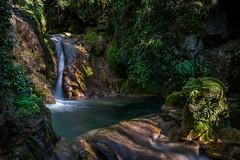 Le ruisseau de la gorge (tontonlabiere) Tags: nikon d800 water waterfall ain aintourisme rhônealpes régionauvergnerhônealpes hth photos hautbugey valserine france montagnes du jura chaley hautevillelompnes albarine ruisseau de la gorge long exposure