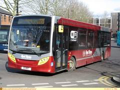 Red Rose E1RRT (TheTransitCamera) Tags: highwycombe england uk unitedkingdom greatbritian redrose travel transit transportation transport city urban bus service fixedroute operator publictransit e1rrt route275 alexanderdennis enviro200
