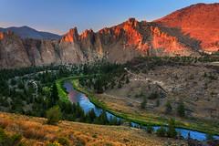 Sweet Misery (Anna Gorin) Tags: smithrock smithrockstatepark bend oregon crookedriver miseryridge sunset hiking outdoors travel pnw landscape canon 5diii tamron 1735mm