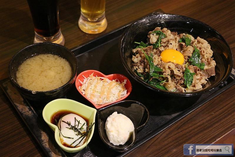 新丼日式丼飯專賣店捷運中山站美食045