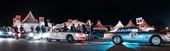 Line up (sidewaysbob) Tags: france classic cars ford lights ferrari racing mans le porsche alfa lm endurance lemans aco 2014 classiclemans lm24