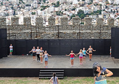 Greece, Macedonia, Kavala, amateur mature females rehearsing on castle's stage (Macedonia Travel & News) Tags: eu macedonia ancient culture vergina sun airport kavala monastery orthodox republic nato fifa uefa un fiba greecemacedonia macedonianstar verginasun aegeansea macedoniapeople macedonians peopleofmacedonia macedonianpeople mavrovo macedoniablog 29613304n macedoniagreece makedonia timeless macedonian macédoine mazedonien μακεδονια македонија travel prilep tetovo bitola kumanovo veles gostivar strumica stip struga negotino kavadarsi gevgelija skopje debar matka ohrid heraclea lyncestis