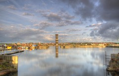 Victoria Tower, Collingwood Dock, Liverpool (Explored 20/10/14) (Jeffpmcdonald) Tags: uk liverpool jessehartley victoriaclock salisburydock dockersclock collingwooddock nikond7000 jeffpmcdonald aug2014