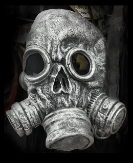 From flickr.com/photos/75325532@N08/14993908624/: Zombie Gas Mask