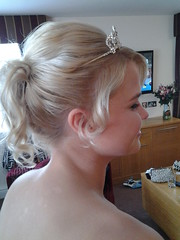 "Bridesmaid Hair • <a style=""font-size:0.8em;"" href=""http://www.flickr.com/photos/36560483@N04/15003390384/"" target=""_blank"">View on Flickr</a>"