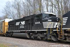 NS 6808 EMD SD60M (Trucks, Buses, & Trains by granitefan713) Tags: train ns trains locomotive freighttrain norfolksouthern emd sd60m emdsd60