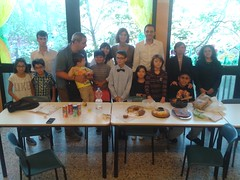 """14.10.19 dopo la Messa delle 10.30 16.30 merenda a cura del gruppo di 4 elementare • <a style=""""font-size:0.8em;"""" href=""""http://www.flickr.com/photos/82334474@N06/15023303163/"""" target=""""_blank"""">View on Flickr</a>"""