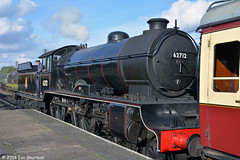 No 62712 Morayshire 5th Oct 2014 GCR Autumn Steam Gala (Ian Sharman 1963) Tags: autumn heritage station train no leicester great oct north central engine railway loco class steam line locomotive 5th gala woodhouse 440 loughborough quorn 2014 morayshire gcr d49 62712
