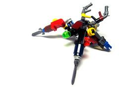 Scrap Crawler (ExtraStuds) Tags: robot lego scrap moc drone