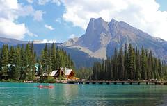 Emerald Lake (TomIrwinDigital) Tags: mountain lake canada nationalpark bc emerald yoho