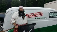 Krispy Kreme Pirate (International Talk Like A Pirate Day) Tags: costumes pirates beards pirate pirattitude talklikeapirateday2014 tlapd14