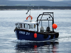 Aurora (calzer) Tags: trip boat fishing 21 sunday aurora ins burghead