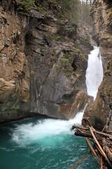Lower Falls (JB by the Sea) Tags: canada rockies waterfall alberta banff rockymountains banffnationalpark canadianrockies johnstoncanyon johnstoncreek johnstonfalls september2014