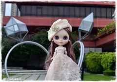Bianca Pearl with huge wedding rings