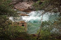 Wearing Down the Rocks (JB by the Sea) Tags: canada rockies alberta banff rockymountains banffnationalpark canadianrockies johnstoncanyon johnstoncreek johnstonfalls september2014