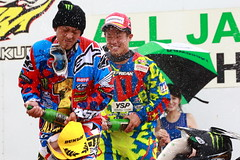 Winner's attack on the Champion (go_Matin) Tags: japan honda racing fox yamaha motocross mx alpinestars monsterenergy