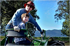 Want to drive? 10 4 2014 (rbdal (Rick Dalrymple)) Tags: tractor fall oregon nikon johndeere sauvieisland multnomahcounty thepumpkinpatch d7000