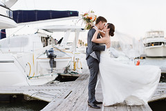 Chesapeake Wedding (Natalie Franke) Tags: wedding beach bay maryland windswept winner romantic annapolis chesapeake