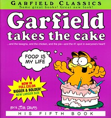 Garfield Takes the Cake (Vernon Barford School Library) Tags: new school pet cats pets cakes cake cat comics reading book high humorous comic five library libraries humor cartoon reads jim books humour read paperback cover strip comicbook junior take comicbooks comicstrip covers bookcover middle davis vernon takes garfield wit cartoons recent strips bookcovers nonfiction paperbacks fifth comicstrips cartoonstrip cartoonstrips barford softcover vernonbarford softcovers humananimalrelationship 9780345449788