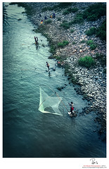 "Fishermen of Bhairab (Rahat ""ArchQuad"" Amin) Tags: people eye birds river fisherman nikon stones working documentary lifestyle bangladesh d600 archquad"
