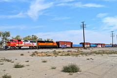 UP LC505J-23 (caltrain927) Tags: santa railroad burlington train flyer pacific nevada union railway nv local fe northern freight bnsf fernley emd warbonnet gp60m gp60