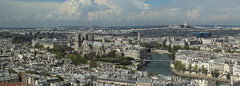 Paris Panorama (gasdub) Tags: panorama paris france tower seine river cityscape tour view cathedral cit ile panoramic vista notre dame vue cathedrale panoramique  zamansky