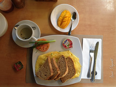Yummy breakfast to keep your day going! (Arvind Manjunath) Tags: blue sunset beach sand philippines boracay ph iphone 2014 nabas westernvisayas thomsonreuters bluebeaches arvindmanjunath motofotog