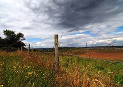 Country view (gillybooze (David)) Tags: weather clouds country vista ©allrightsreserved