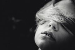 Eros (Andrea Passon) Tags: portrait blackandwhite italy mouth hair 50mm model nikon italia mood blonde passion concept bianco ritratto nero bocca treviso capelli v